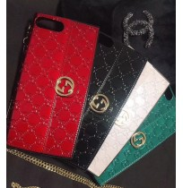 グッチ iphone xケース ショルダー バッグ型 ブランド グッチ アイフォン8/7/6s/6 plus Gucci コピー 携帯カバー バッグ 女性