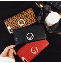 フェンディ iPhone X/XSケース 財布付き フェンディ アイフォン 8/7/6s/6 plus ケース ブランドコピー FENDI カバー