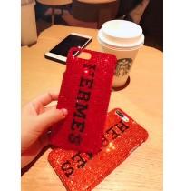エルメス ブランド iPhone x plusケース キラキラ エルメス ブランド コピー  iPhone用 8/7/6 plus カバー