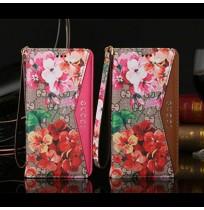 グッチ ブランド iPhone8 Plus 手帳ケース 花柄 グッチ アイフォン7/6s/6 プラス カード収納付き ケース GGブルームスコレクション
