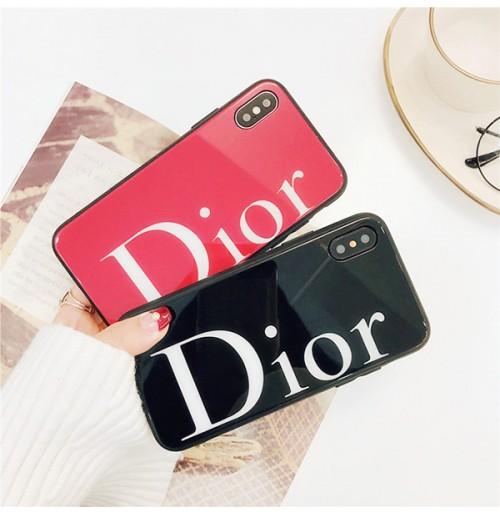ディオール ブランド iPhoneX プラス 背面ガラスケース 偽物 Dior アイホン8 ケ ース 強化ガラス