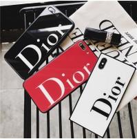 ディオール ブランド iPhoneX 10 背面ガラスケース 偽物 Dior アイホン8 ケ ース 強化ガラス