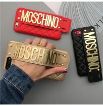 モスキーノ iPhonex plus 背面ケース ベルト付き モスキーノ iPhone8/7/6s/6 カバー 取っ手付き
