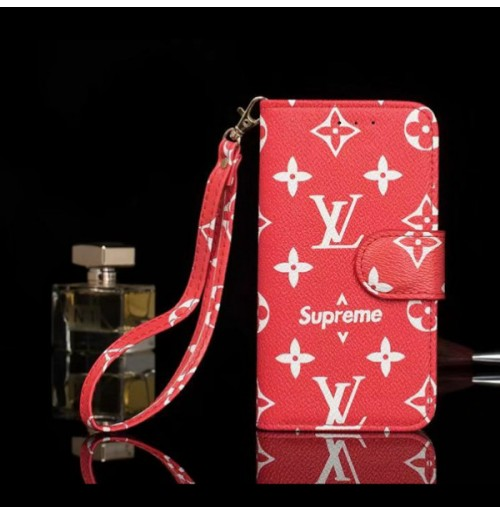 supreme ヴィトンgalaxy s10/s10+/s10e s9/s9+ s8/s8+手帳ケース 偽物 Gucci  ブランドiphoneXS/XS MAXカバー XR 8/7/6s/6手帳型ケース ビジネス風 男女兼用 ストラップつき