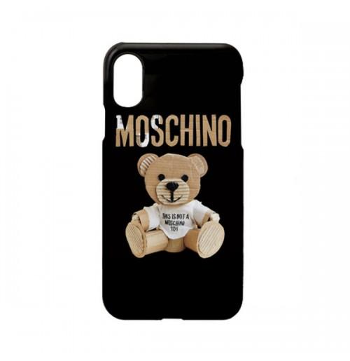 モスキーノ iphone X 背面ケース モスキーノ アイフォン8プラス カバー Moschino   iphone7/6s/6 plusケース テディベア