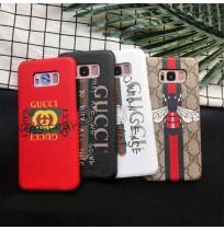 グッチ ギャラクシーS9/S8 プラスカバー グッチ NOTE8 ケース グッチ iphone6/6s/plus/7/7plusカバー 落書き