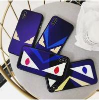 フェンディ iphone X 背面ケース ブランド FENDI アイフォン8/7/6s/6 plus カバー パロディ
