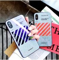 オフホワイト iphone X/XS/XSMAX 背面ケース バレンシアガ アイフォン8/7/6s/6プラス 背面カバー Off-White GalaxyS10/S10/S10e S9/S9+/S8/S8+ S7/S7edgeギャラクシー ノート8/9ケース
