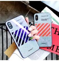 オフホワイト iphone X/XS 背面ケース Off-White アイフォン8/8プラス 7/7plus 6s/6s plus 背面カバー バレンシアガ iphone6/6 plus ケース