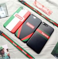 シュプリーム iphone x ソフトケース シュプリーム アイフォン8 プラス カバー Split Rugby supreme   iphone7/6s/6 plus ケース