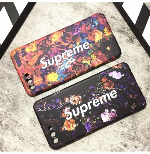 シュプリーム Huawei P20 LITE HWV32 ハードケース SUPREME Galaxy s9/s9plus s8/S8PLUS Galaxy s7edge 花柄 supreme ファーウェイ Huawei P20 Pro カバー Galaxy note8 レディース向け カラフル