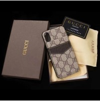 グッチ iphone X ケース GUCCI galaxy s9/s8 plus 背面収納ケース LV SUPREME アイフォン8/7/6s/6 プラスカバー グッチ ギャラクシー ノート8 背面手帳型 スマホケース
