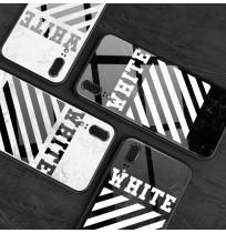オフホワイト iphone8/8plus 7/6s/6プラスケース off white アイフォンX/XSカバー XR/XS MAX  大理石 オフホワイト Galaxy s9/s9plus オフホワイト Huawei P20/P20 Pro/Huawei P20 LITE HWV32 ケース 男女兼用