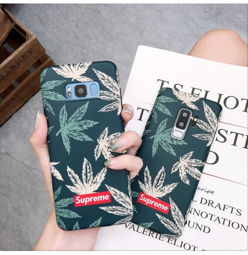 supreme  iphone X iphone8/8plus ケースシュプリーム galaxy s9/s9+ note8/9 ギャラクシー s8/s8plus ケース Huawei P20 LITE シュプリーム アイフォン7/6s/6 カバー 北欧 癒し おしゃれ