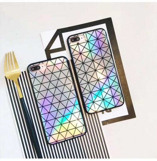 三宅一生 iPhone8PLUS ケース レディース イッセイミヤケ ISSEY MIYAKE アイフォンx/7/6s/6 プラスカバー   菱形 斜方形