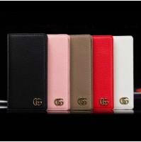 gucci iphoneX/XR 8/8plusケース 手帳型 ブランド グッチ 偽物 iphoneX/XS/XS MAX レザーケース 本革調 アイフォン 7/6s/6 プラス シンプル ビジネス