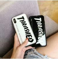 THRASHER アイフォン X スマホケース 偽物 スラッシャー アイフォン8/7/6s/6 plus 携帯カバー メンズ レディース