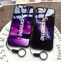 シュプリーム iphone X iphone8 ケース シュプリーム アイフォン7/6s/6 カバー 宇宙柄 キレイ