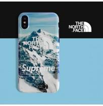 THE NORTH FACE シュプリーム iphone8/7 プラスカバー ザノースフェイス ブランド パロディー風 アイフォン Xケース 7/6s/6 ケース