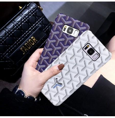 ゴヤール Galaxy S9/S9 plusケース ギャラクシー S8/S8プラスカバー ブランド Goyard コピー galaxy note9 ノート8 ケース レディース メンズ
