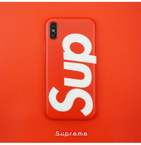 シュプリーム iphone XS/XS MAX XR カバー supreme iphoneX アイホン8/8プラス背面ケース アイフォン7/6s/6ケース