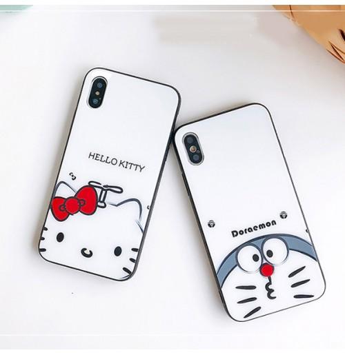 69dbd5718e ... ケース カバー (6) · ドラえもん Doraemon iphone XS/XS MAX ガラスカバー ハローキティ iphone XR/X  アイフォン