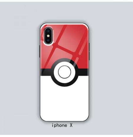 ポケモン モンスターボール風 iphoneX/XR/XS XS MAXケース ポケモン アイフォン8/8プラスケース iPhone7/6s/6 plus 携帯カバー