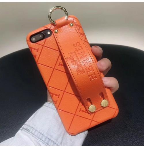 8c4feb48ec エルメス iphoneケース XS/XS MAX 偽物 取っ手バンド付き レザー柄 エルメス風 アイフォン