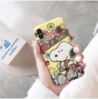 スヌーピー iPhone XSケース XS MAX/XR/X Snoopy アイフォン8/8プラス アイホン7/6s/6plus背面ケース