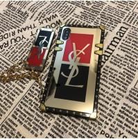 サンローラン Saint Laurent IPhone XS/XS MAXケース X/XR イヴサンローラン ブランド コピー アイフォン8/7/6S/6対応カバー huaweip20 proケース 女子