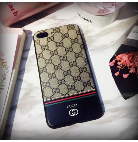 グッチiPhoneカバー X/XR/XS/XS MAX ブランド GUCCI アイフォン8/7/6s/6 プラス 携帯ケース ロゴスマホケース