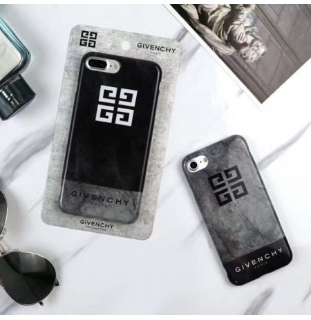 ジバンシィ iPhoneX携帯ケース givenchy アイホン8/8プラス 背面ケース アイフォン/6s/6 プラスカバー 大理石模様
