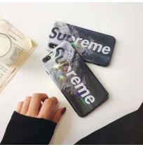 シュプリーム iphone XSカバー XS MAX/XR supreme アイフォン8/8プラスカバー iPhone7/8/6s/6 ケース plus 光沢 ファッション