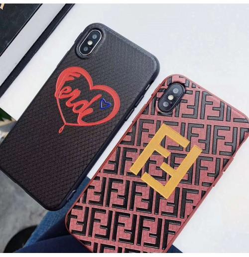 Fendi iphoneXS/XR/XS MAXカバー フェンディ コピー アイフォン8/8plusケース 7/6S/6プラス背面ケース