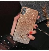 グッチ iphone XS/XS MAXカバー キラキラ ラメ GUCCI アイフォン8/7/6s/6plusケース galaxy s9/s9+ ギャラクシーs8/s8+ note8/9 ケース Huawei P20/P20 PRO/LITE 携帯ケース スワロフスキー風