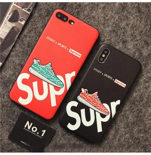 超かっこいい シュプリーム アイフォンXS/XR/XS MAXカバー iphone8/7/6S/6plus背面ケース 男性用 通学 お出かけ