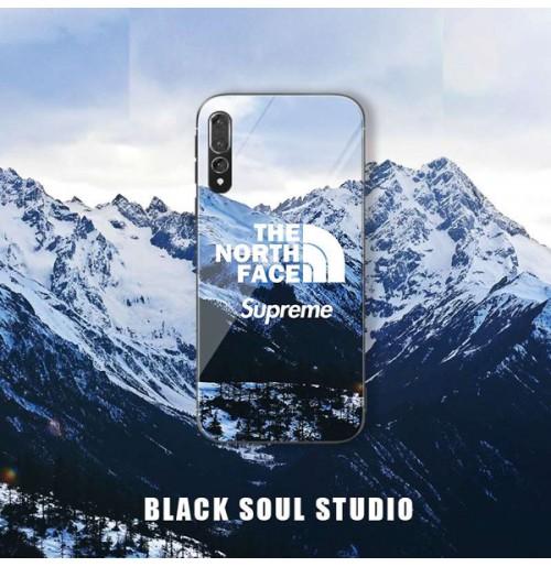 Supreme × THE NORTH FACE iphone XS MAX/XS/XRカバー ノースフェイス×シュプリーム コラボ アイフォン8/8プラス アイホン7/6S/6plus携帯カバー Huawei P20/P20PROケース