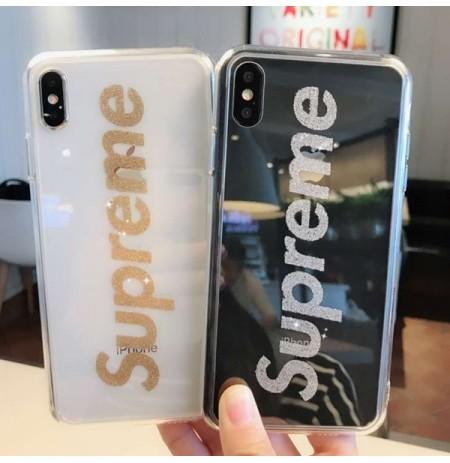 supreme iphoneXS/XS MAX/XR クリアケース CHANEL アイフォン8/8plus 透明ケース ルイヴィトン iphone7/6s/6 plusカバー