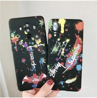 ストリート supreme ブランドiphoneXS/XS MAXケース ステューシー galaxy s9/s9+ s8/s8+ note8/9 夜光型ケース Huawei P20 Proカバー ストリート風