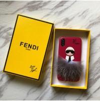 フェンディ FENDI KARLITO カーリト iPhoneXS/XS MAX/XRケース ブランド アイフォン8/8プラスカバー iphone7/6s/6カバー レディース