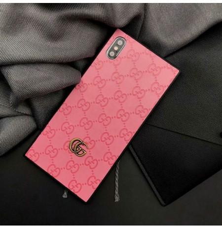 GUCCI グッチiPhoneXS/XS MAX/XRケース GGロゴ入りアイフォン8/7/6s/6plus携帯カバー おしゃれ