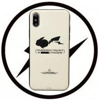 藤原ヒロシ X ポケモン iphoneX/XS/XR/XSMAXカバー コピー THUNDERBOLT PROJECT アイフォン8/7/6s/6プラス スマホケース シンプル