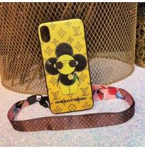 LV ブランド ヴィヴィエンヌ VIVIENNE iphoneXSMAX/XS/XRケース ルイヴィトン アイフォン8/8プラス アイホン7/6S/6plusカバー 男女兼用 ストラップ