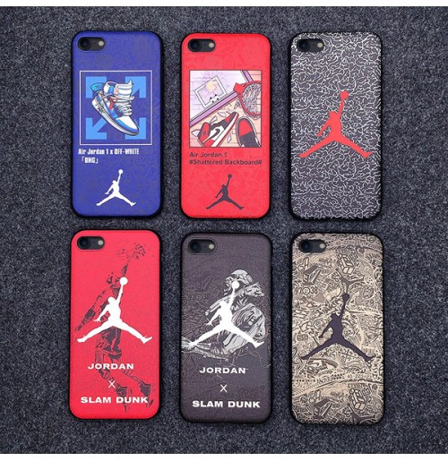 エアジョーダン iphoneケース XSMAX/XS/XR Nike Jordan エアー AIRアイフォン8/8プラスカバー iphone7/6S/6PLUS保護ケース