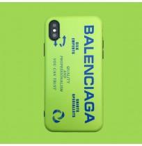 Balenciaga iphoneXR/XS/XSMAXブランドケース バレンシアガ アイフォン8/8plusシリコンケース アイホン 7/6s/6plusプラスカバー 男女兼用 人気
