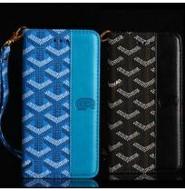 ゴヤール iphoneXR/XS/XS MAX手帳型ケース GOYARD アイフォン8/7/6S/6PLUS ブランドケース ビジネス風 男女兼用