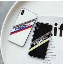 フェンディ マニア iphoneXS MAX/XS/XRガラスケース FENDI アイフォン8/7/6s/6プラスケース メンズ