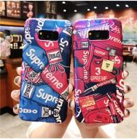 シュプリーム ギャラクシーS10/S10+S10eカバー GalaxyS9/S9+ S8/S8+ ギャラクシーNOTE8/9ケース メンズ