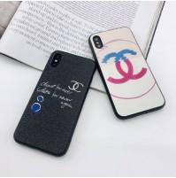 シャネル パロディ iPhoneXSMAX/XS/xrケース ブランド アイフォン8/7/6S/6プラスカバー レディース