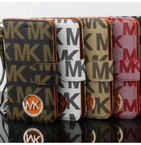 ブランドMK手帳型iPhoneXSMAX/XS/X iPhoneXRケースマイケルコースアイフォン8/7/6S/6PLUS手帳携帯ケース